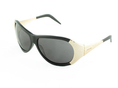 Roberto Cavalli Anteojos de sol Antigone: negro/dorado/gris