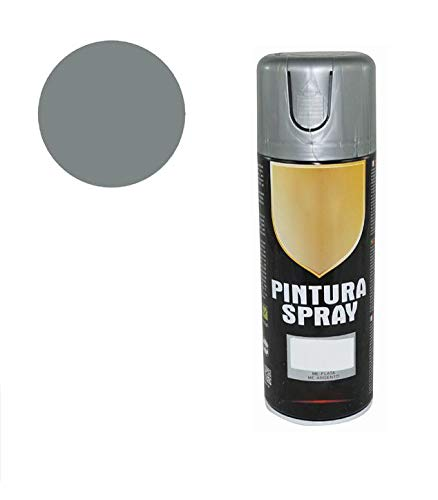 8593 Pintura Spray Plata Metalizado 400 Ml