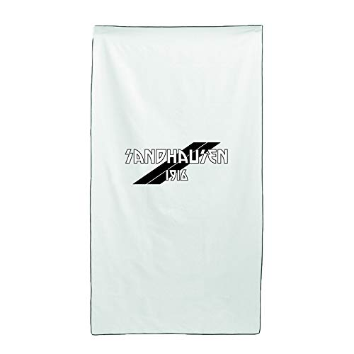 Tipolitografia Ghisleri Handtuch, Strandtuch Handtuch weiß Flagge Sandhausen 70 x 140 cm
