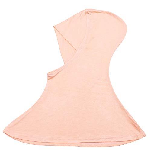 Fenical Damen Muslimen Hijab Hals-Abdeckung Modeschal Innen Hijab Baseball Cap muslimische Schapellerie muslimisch Turban Hut Kopfhaube (schwarz), Baby - Jungen, 8D4NP06K11514WJ5HZP62A2, kaki, 43x45cm