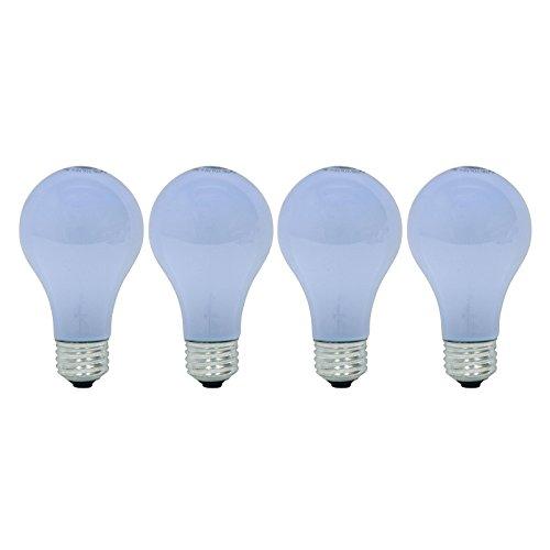 GE Lighting Reveal 40-Watt, A19 Color Enhanced Light Bulb with E26 Medium Base, 4 Pack