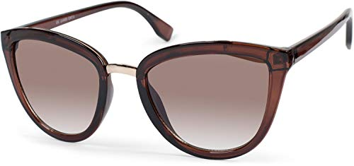 styleBREAKER gafas de sol de mujer de ojos de gato con...
