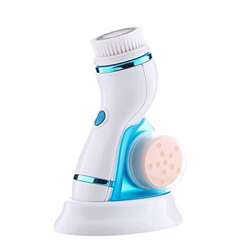 Ea-rechargeable nettoyant pour le visage brosse électrique pour le visage enlèvement des points noirs nettoyant pour les pores outil de nettoyage multifonctionnel