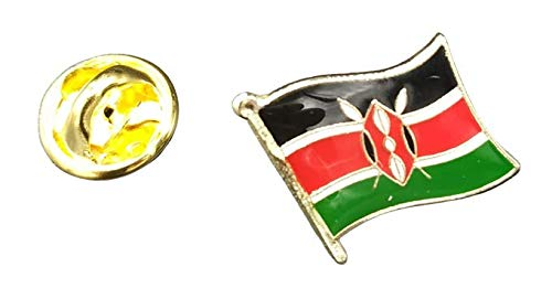 Speld vlag Mastil Kenia 16 x 15 mm