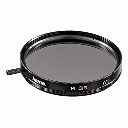 Hama Polarisationsfilter 58mm (Zirkularer Polfilter mit 4-fach Vergütung, Filter inkl. Filterbox)