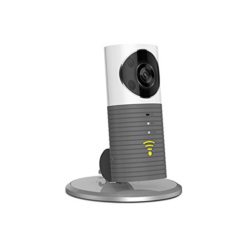 XHZNDZ Cámaras inalámbricas de Seguridad WiFi/Smart Baby Monitor/Vigilancia Cámaras de Seguridad Visión Nocturna, Grabación de Video, Audio bidireccional, Detección de Movimiento (Color : Gray)