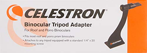 Celestron 93524 Roof and Porro Binocular Tripod Adapter, Black