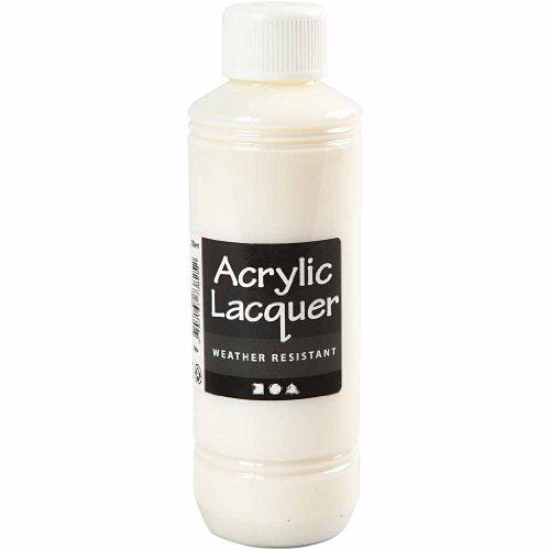 Barniz acrílico, resistente a la intemperie, 250 ml.