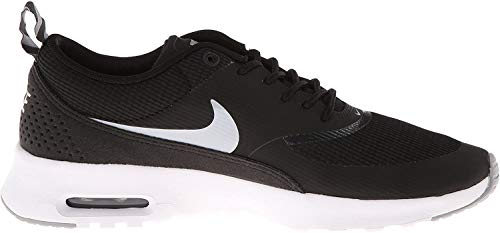 Nike Air Max Thea, Damen Sneakers, Schwarz (Black/Wolf Grey-Anthracite-White), 37.5