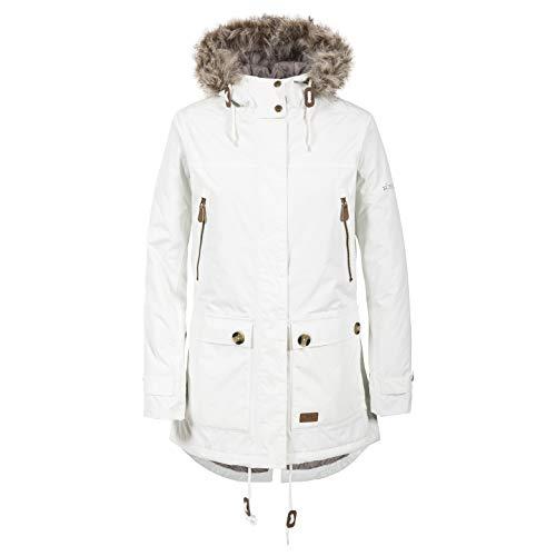 Clea B - Womens Waterproof Parka Padded Jacket - GHOST M