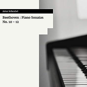 Beethoven : Piano Sonatas No. 10 - 12
