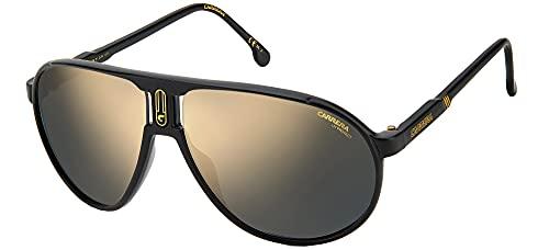 Carrera Gafas de Sol CHAMPION65/N Matte Black/Grey Gold 62/12/130 unisex