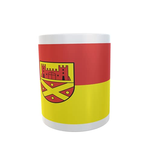 U24 Tasse Kaffeebecher Mug Cup Flagge Hüllhorst
