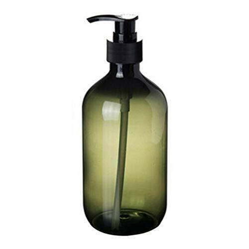 Leere Pumpflaschen aus Kunststoff, nachfüllbar, für Toilettenartikel, Flüssigkeits-Spender für Lotion, Shampoo, Körperwäsche, Creme, Duschgel-Halter