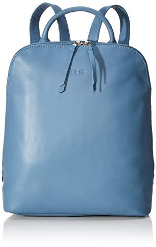 BREE Damen Toulouse 8, Provenc, Backpack W19 Rucksack, Blau (Provincial Blue), 16x33x28 cm