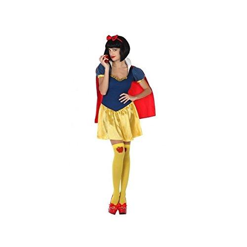 ATOSA disfraz princesa de cuento mujer adulto amarillo XL