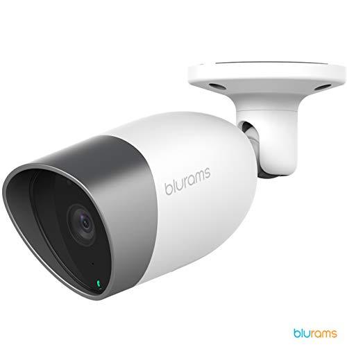 Blurams Outdoor Lite 1080P FHD bewakingscamera, waterdicht IP65, met wifi, luidspreker, intelligente bewegingsdetectie, geluid en realtime alarm (iOS en Android)