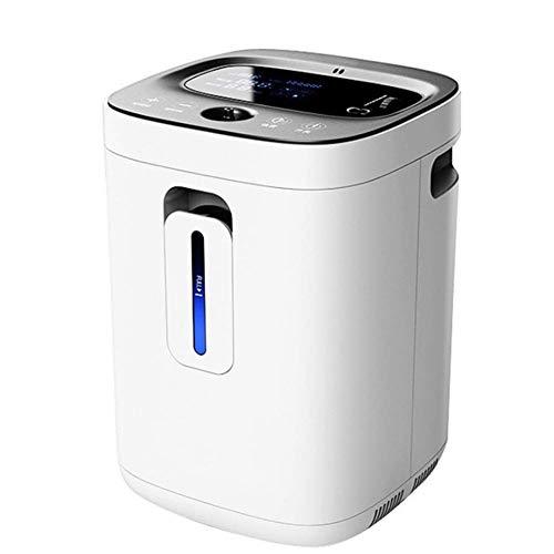 Zuurstof Concentrator 1-6L/min 93% Verstelbare Draagbare Zuurstof Machine voor thuis en reizen Gebruik De Timing Zuurstof Concentrator met LED Display Mute