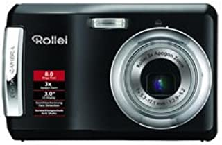 Rollei X 8 (8 Megapixel, 3 Fach Opt. Zoom, 7,6 cm (3 Zoll) Display) bi Colour