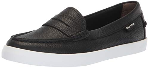 Cole Haan Women's Nantucket Loafer, Black Leather, 7