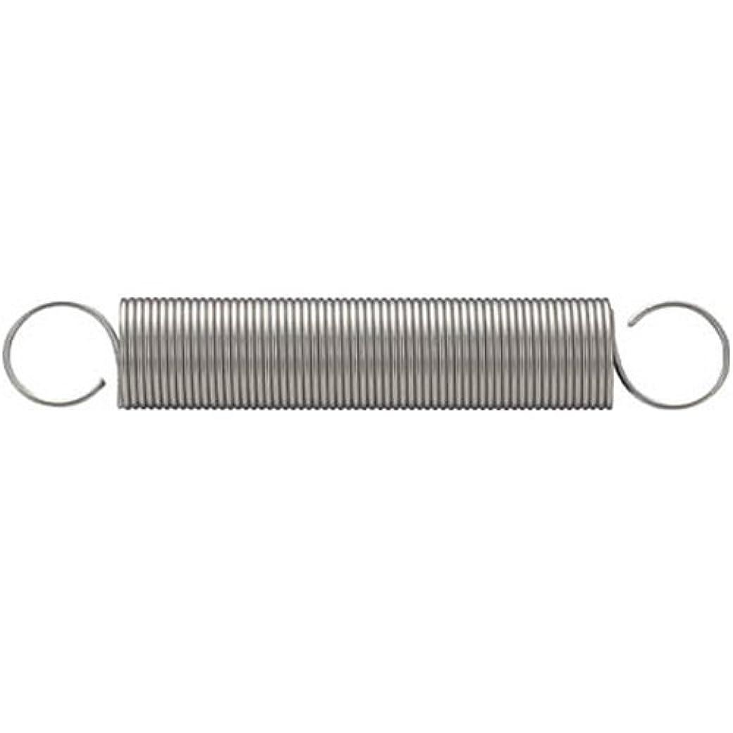 枯れるベール非難するTRUSCO(トラスコ) 引張コイルばね D5.0×d0.55×L43.5 10個入 TES500-055-435