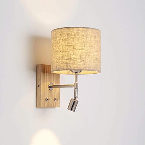 Aplique De Pared De Estilo Industrial Lámpara de pared Lámpara de pared - BJ8230 Dormitorio de lectura junto a la cama Salón Pasillo Sencillo Moderno Nordic Lámparas de hierro forjado Lámpara De Pared