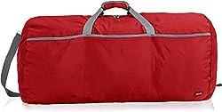 AmazonBasics 98 L Foldable Large Duffel Bag, Red,AmazonBasics,ZH1603219R1A