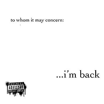 I'm Back (feat. Jwick & Killa KY)