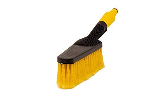 WamSter Brosse de lavage de voiture avec raccordement à l'eau (jaune)