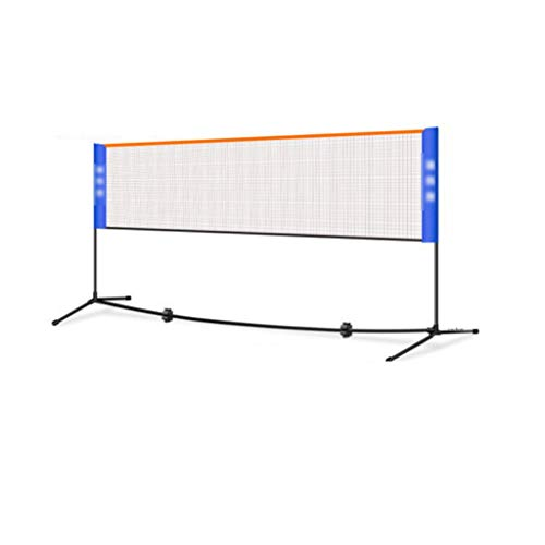 Red de tenis Redes Soporte De Tenis Plegable Badminton Net Rack Portátil...