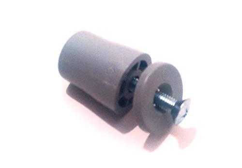 Rolladen Stopper 28 mm lang in grau Anschläge 10 Stück Rolatec Set