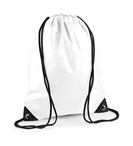 Sac de sport ShirtInStyle, Sac de sport, Gymsac, Sac à chaussures avec cordon beaucoup colorent - blanc
