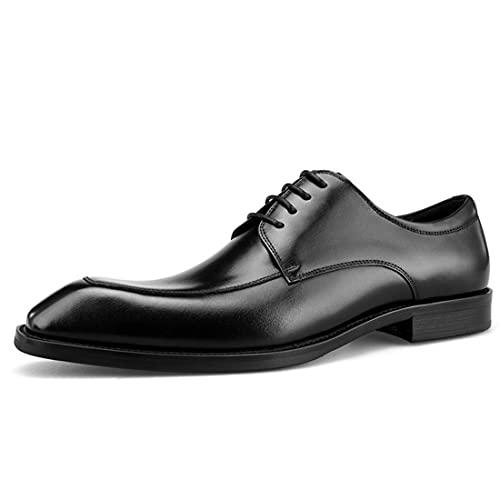 Sdmcdamzzy Herren formelle Schuhe Brogues Trade Derby, schwarz, EU38 thumbnail