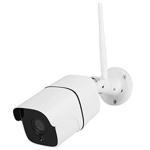 Wosune Cámara de Seguridad WiFi, cámara IP inalámbrica HD, Impermeable IP66 al Aire Libre(100-240V European Standard)