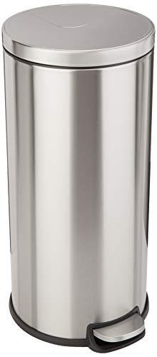 Amazon Basics Round Soft-Close Trash Can - 30L
