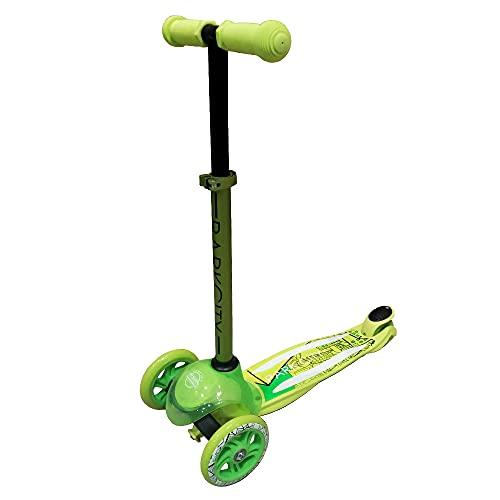 Des Park City Tri Scooter Kid Funk Green