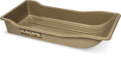 Beavertail Sport Sled, Marsh Brown, Small