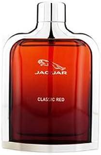 Jaguar Classic Rojo para Hombres por Jaguar–100ml Eau De Toilette Spray