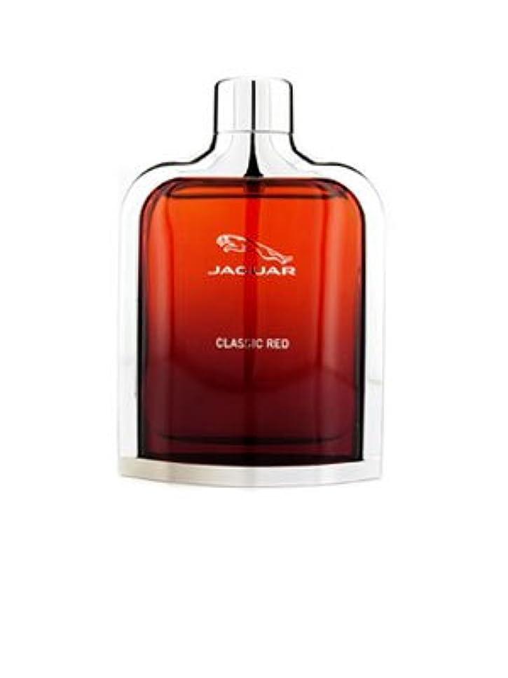 開示する思われる危険なJaguar Classic Red (ジャガー クラシック レッド) 3.4 oz (100ml) EDT Spray for Men