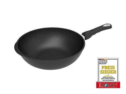 Sartén de wok (32 cm de diámetro, 10 cm de alto,...