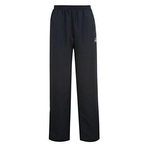 Lonsdale Nouveaux pantalons de survêtement tressé avec ourlet ouvert et taille élastique pour homme Large bleu marine