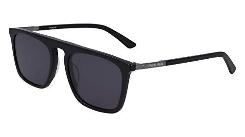 Calvin Klein EYEWEAR CK19525S gafas de sol, NEGRO, 5620 para Hombre