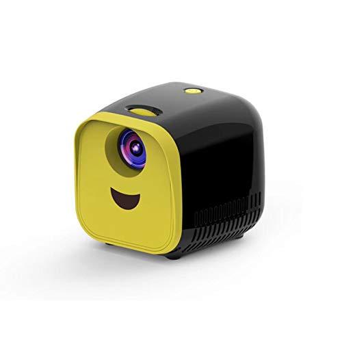 Proyector Portátil Proyector De Video Led Beamer para Cine En Casa 1080P | Pantalla De Espejo para Teléfono Inteligente B