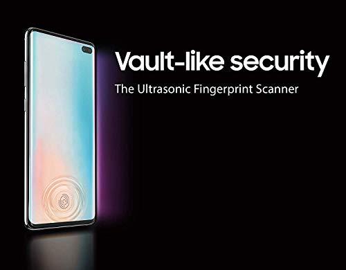 Samsung Galaxy S10 - Smartphone portable débloqué 4G (Ecran : 6,1 pouces - 512 Go - Double Nano-SIM - Android) - Blanc