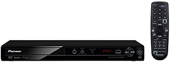 Pioneer 884938138666 DV-2042K Compact DVD Player -for Region Free Multi System - Black