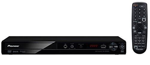 Pioneer DV-2022K Compact DVD Player for Region-free Multi System (Black)