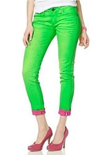 One Green Elephant Jeans 7/8 Kosai Neon Grün Gr. S