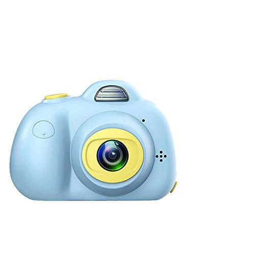 "Bostar Cámaras duales 8.0MP para niños cámara Digital 2.0""LCD Mini cámara para cumpleaños Lindo 32GB Micro SD (Azul)"