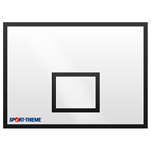 Sport-Thieme Basketball-Board aus MDF | Indoor Backboard Basketball | Basketballrückwand 90cm x 60cm - 180cm x 120cm | 21 mm starkem Holzwerkstoff | Markenqualität
