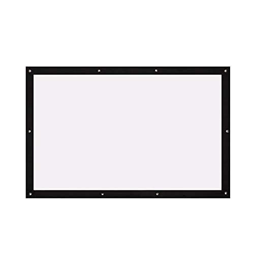 Écran de Projection à Écran de Projection Pliable Durable 4: 3 40/72/100/106 \